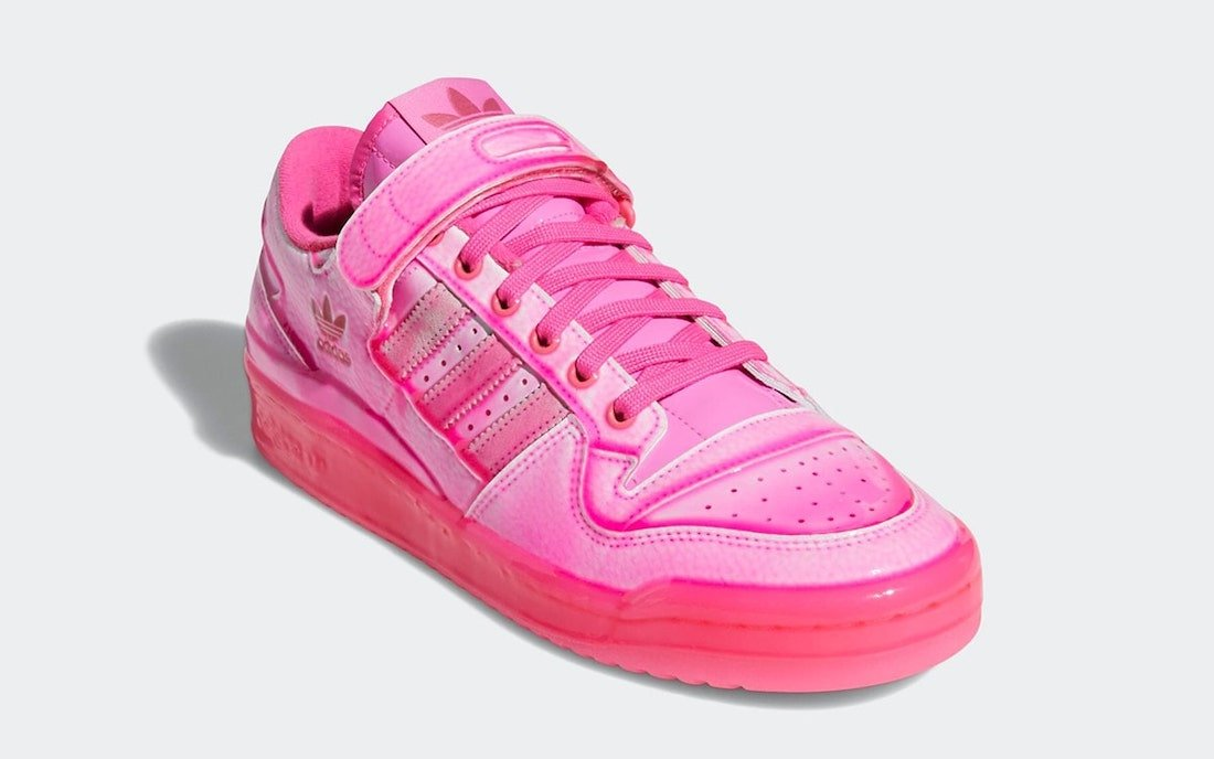 Jeremy Scott adidas Forum Low Dipped Pink GZ8818 Release Date Info