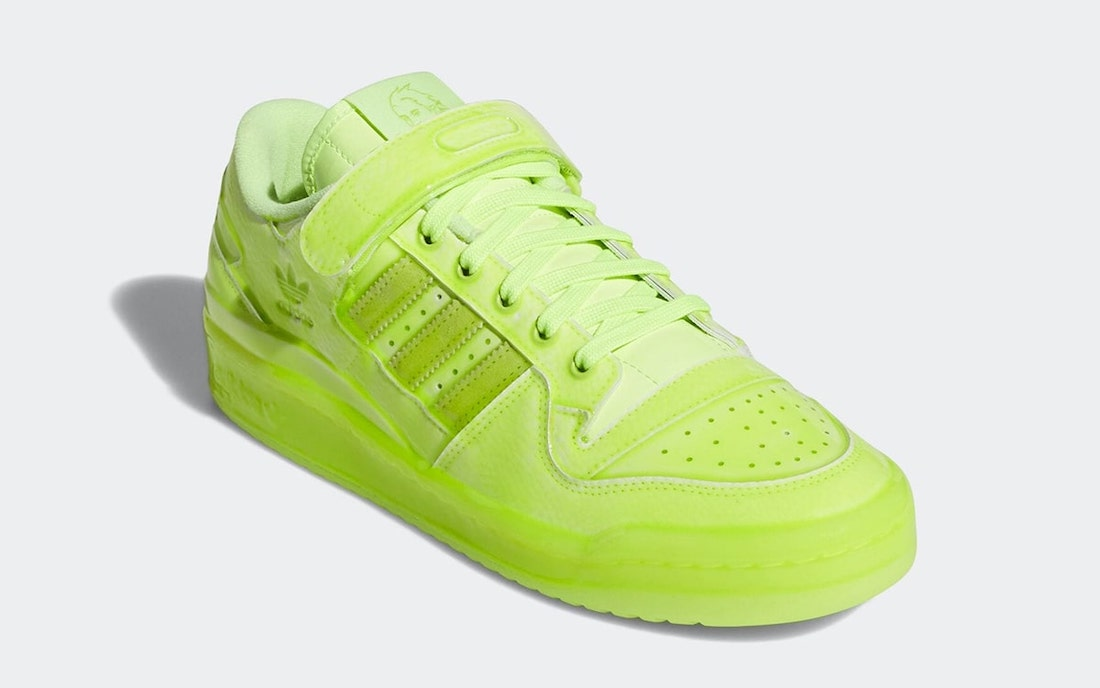 Jeremy Scott adidas Forum Low Dipped Volt GZ8817 Release Date Info