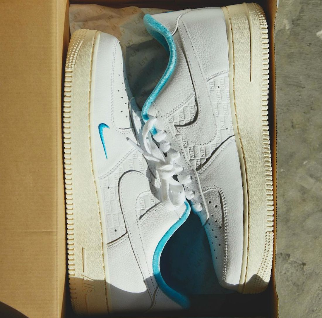 Kith Nike Air Force 1 Low Hawaii DC9555-100 Release Date Info