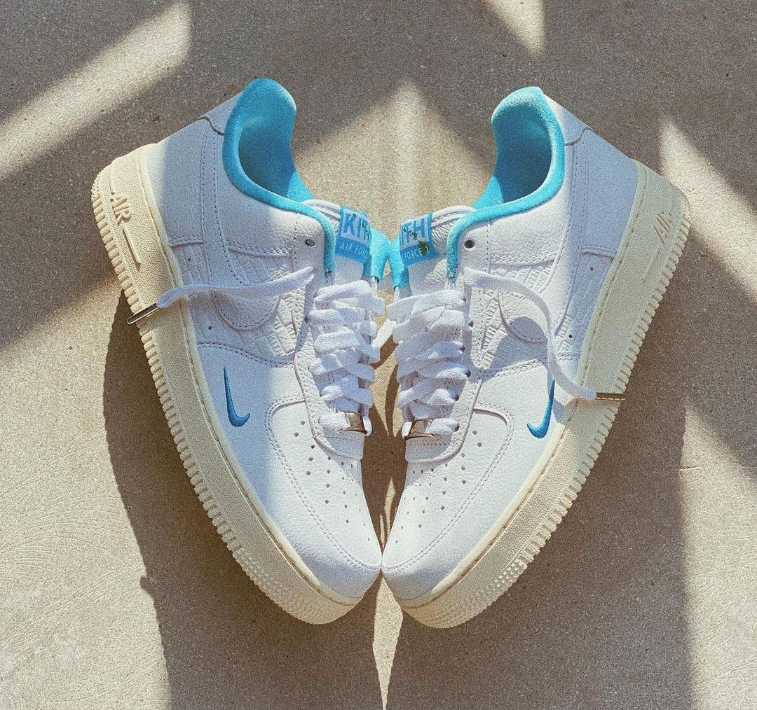 Kith x Nike Air Force 1 Hawaii Release Date Price