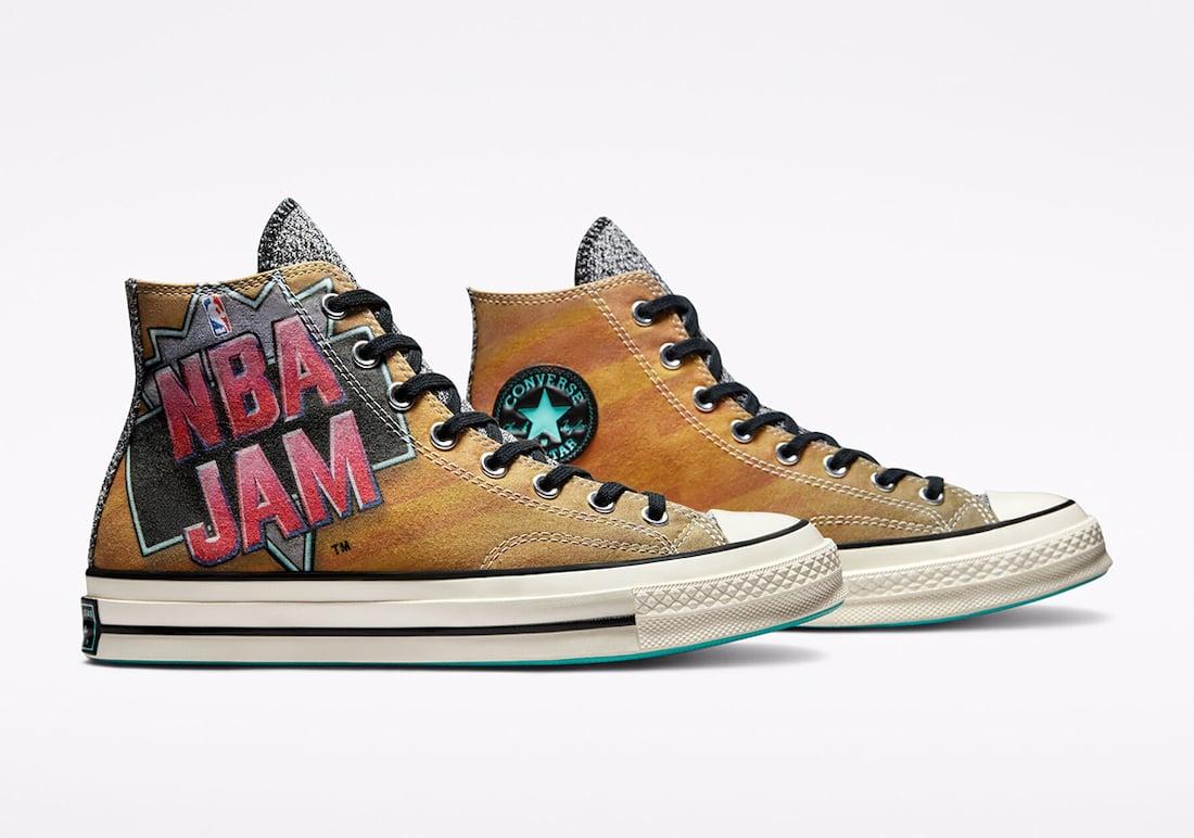 NBA Jam Converse Chuck 70 171692C Release Date Info