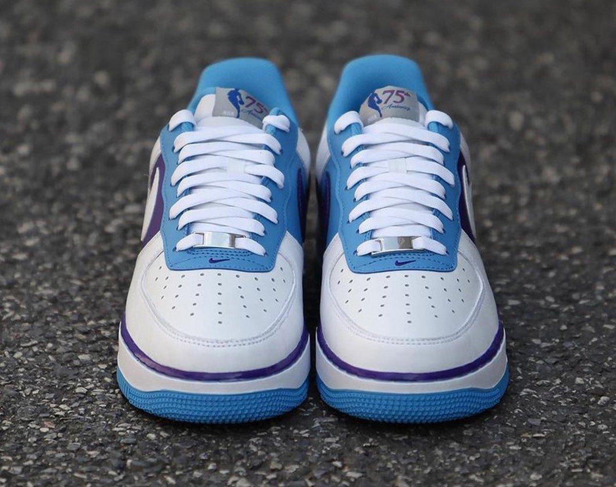NBA Nike Air Force 1 Lakers Release Date