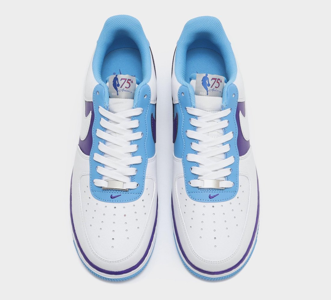 NBA Nike Air Force 1 Low Lakers Release Date Info