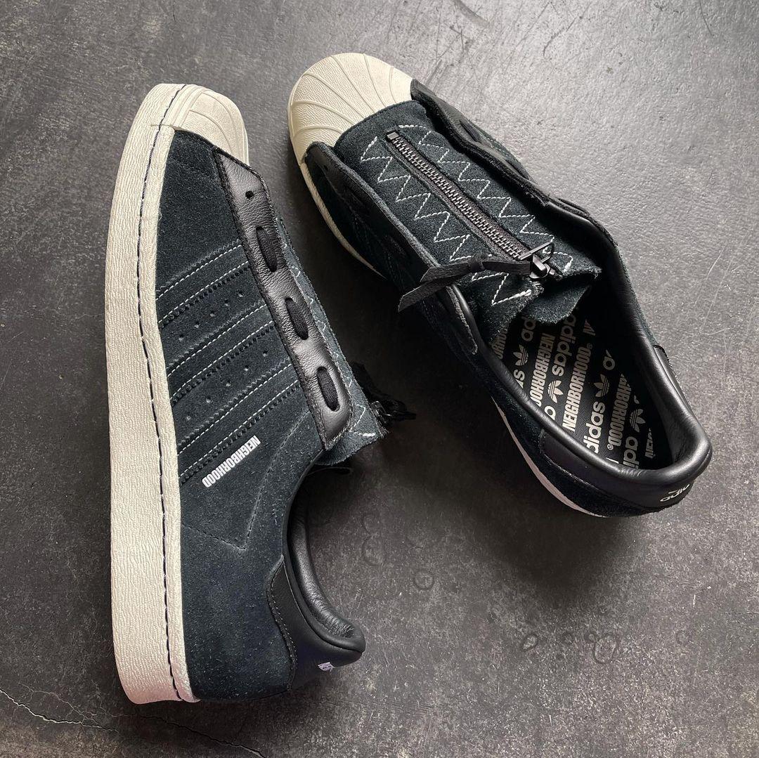 Neighborhood adidas Superstar 80s Release Date Info