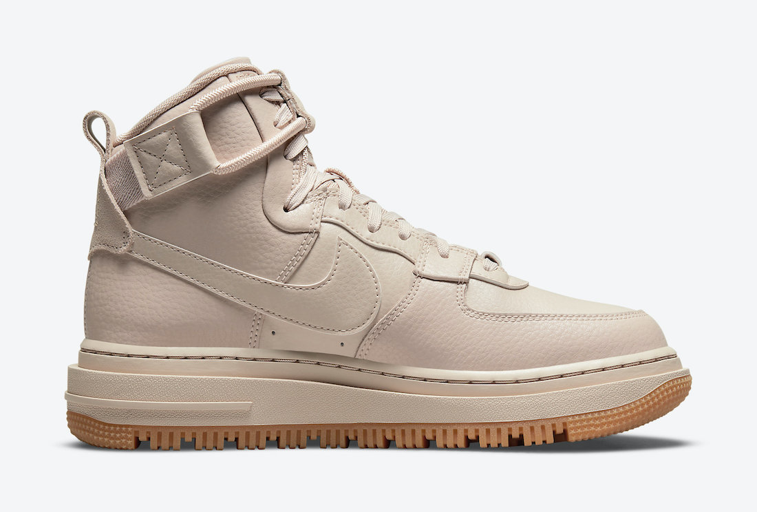 Nike Air Force 1 High Utility 2.0 Arctic Pink Gum Light Brown DC3584-200 Release Date Info