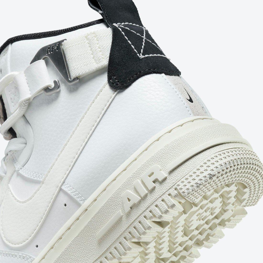 Nike Air Force 1 High Utility 2.0 Summit White Sail Black DC3584-100 Release Date Info