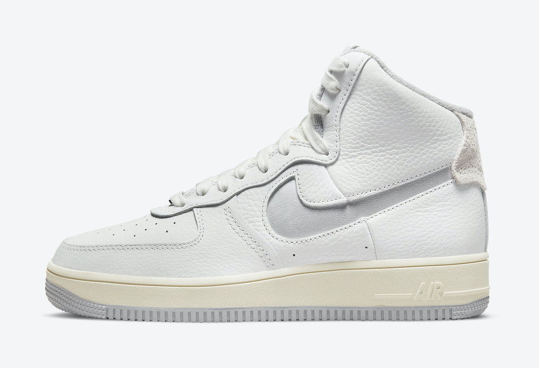 Nike Air Force 1 Strapless Summit White Grey DC3590-101 Release Date Info