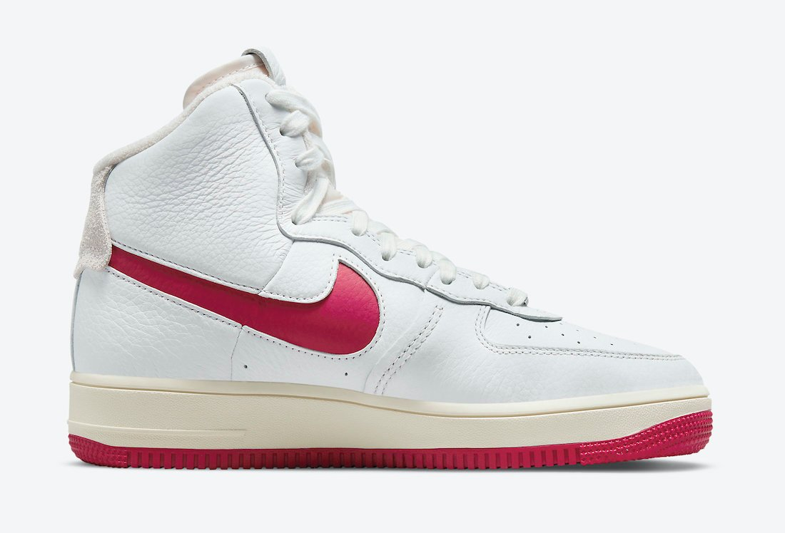 Nike Air Force 1 Strapless Summit White Gym Red DC3590-100 Release Date Info