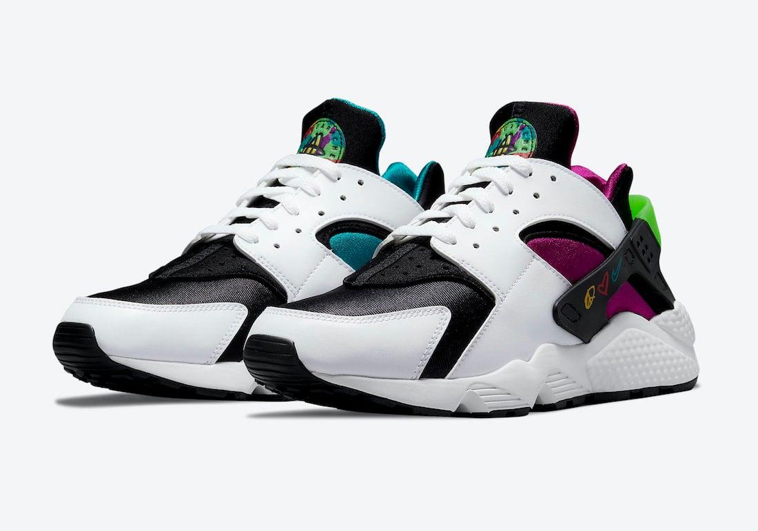 Nike Air Huarache Peace Love Swoosh DM8152-100 Release Date
