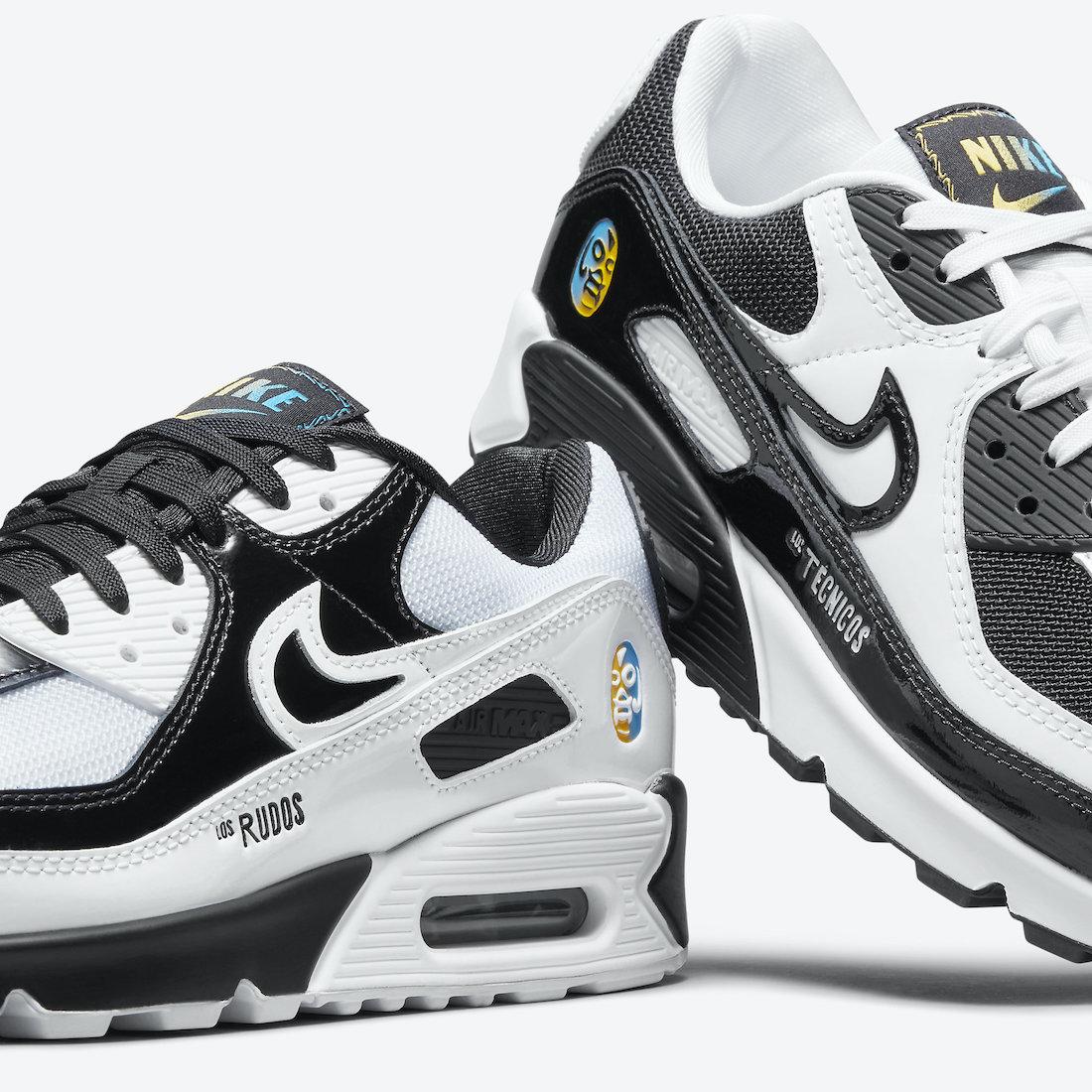 Nike Air Max 90 Lucha Libre DM6178-010 Release Date Info