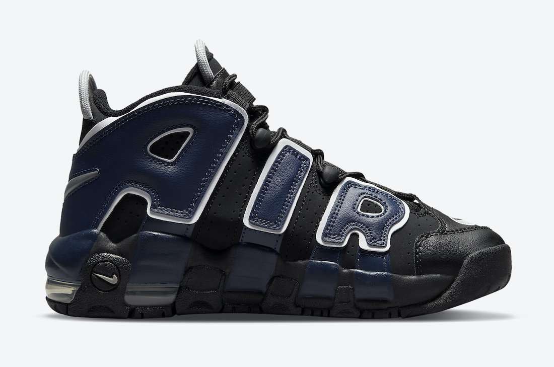 Nike Air More Uptempo Black Red Navy DM0017-001 Release Date Info