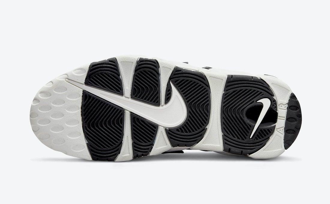 Nike Air More Uptempo White Black DO6718-100 Release Date Info
