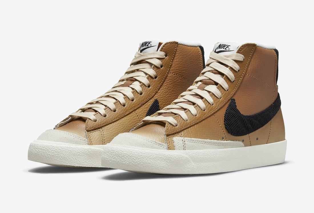 Nike Blazer Mid 77 Mushroom DO6683-200 Release Date Info