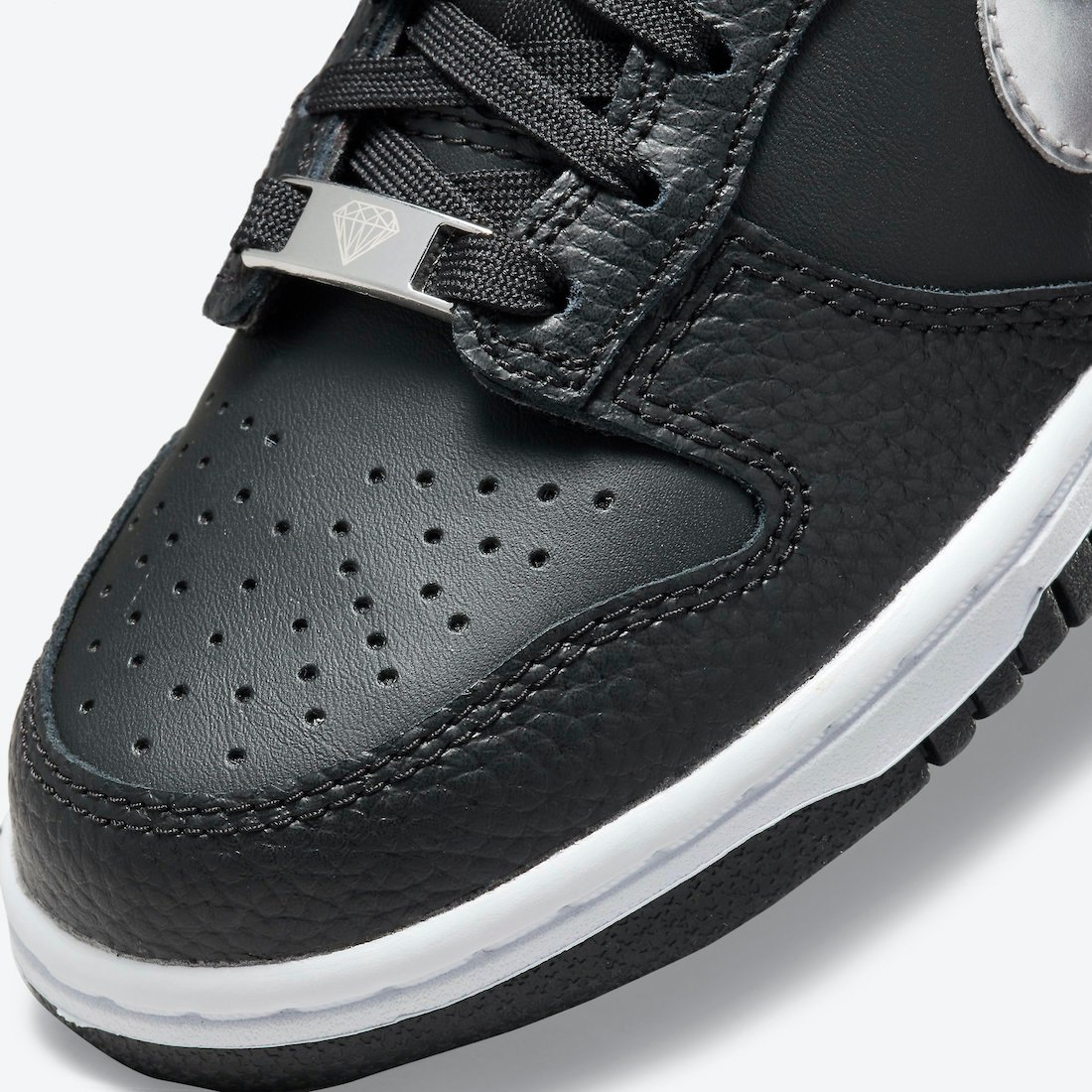 nike dunk low gs black sliver dc9560 001 release date info 6
