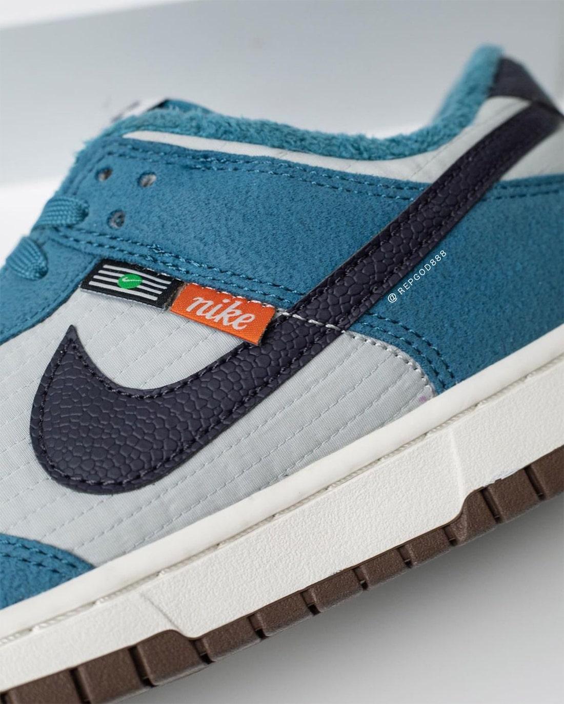 Nike Dunk Low Toasty Grey Blue DD3358-400 Release Date Info