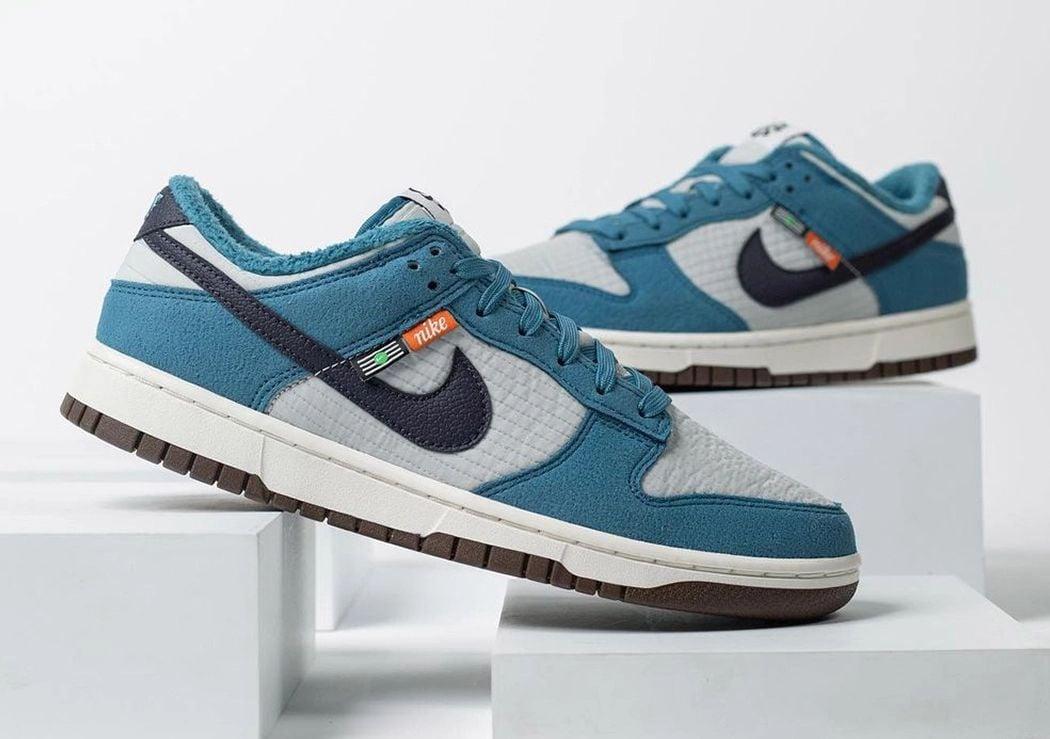 Nike Dunk Low Toasty Grey Blue DD3358-400