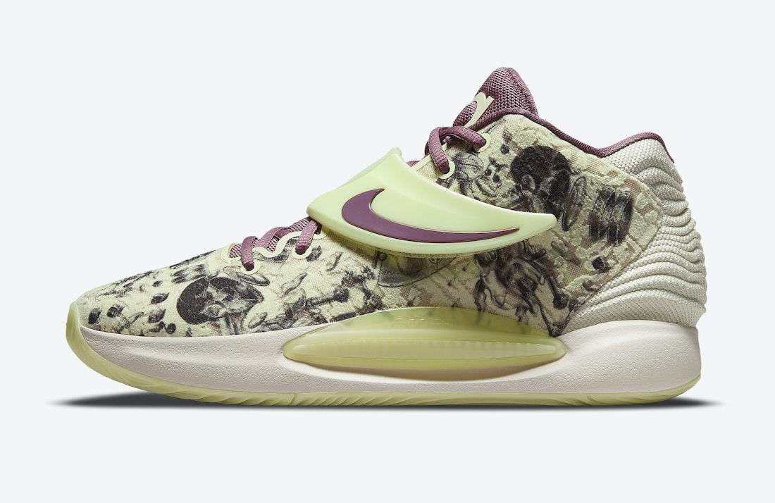 Nike KD 14 Surrealism CW3935-300 Release Date Info