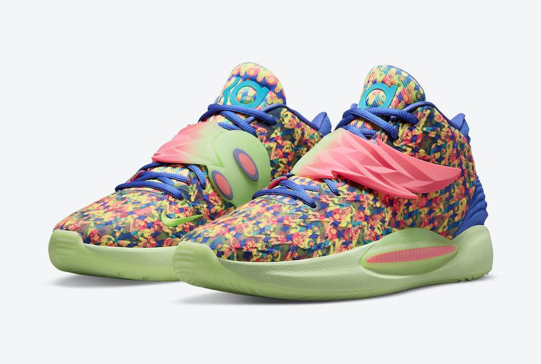 Nike KD 14 Ron English 1 DO6902-400 Release Date Info