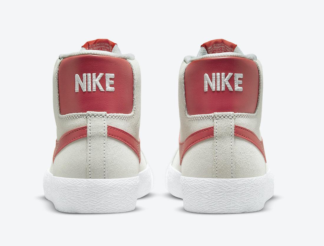 Nike SB Blazer Mid Summit White Lobster 864349-108 Release Date Info