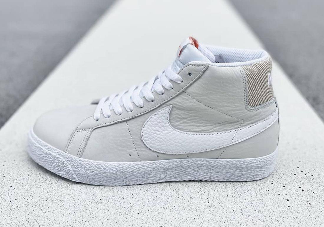 Nike SB Blazer Mid Unbleached Pack BA8855-100 Release Date Info