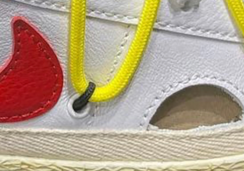 Off-White Nike Blazer Low White University Red