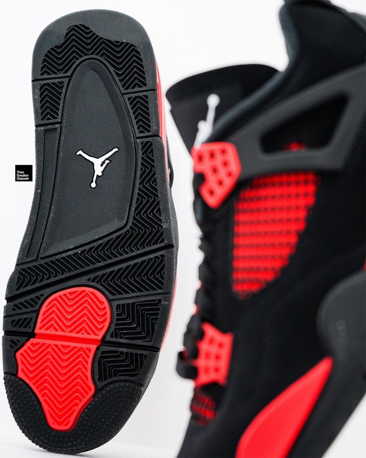 Red nike deliver black mens size 13 women shoes CT8527-016 On-Feet