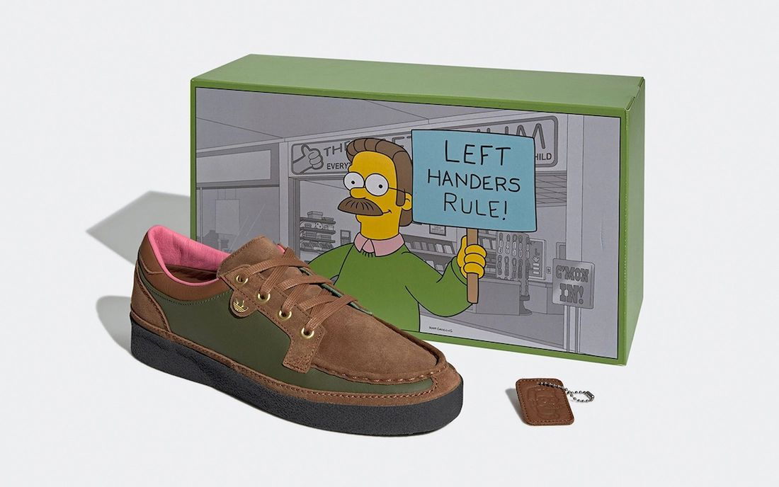 The Simpsons adidas McCarten Ned Flanders GY8439 Release Date Info
