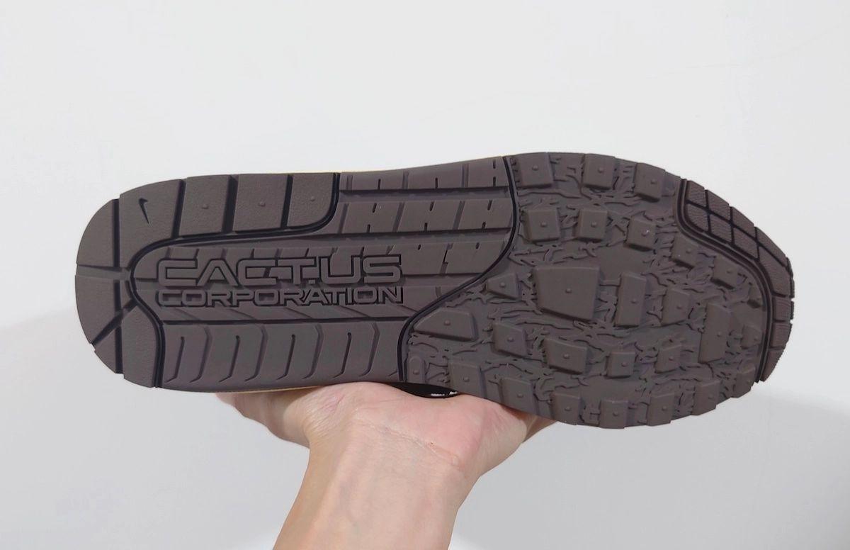 Travis Scott Nike Air Max 1 Baroque Brown Release Date