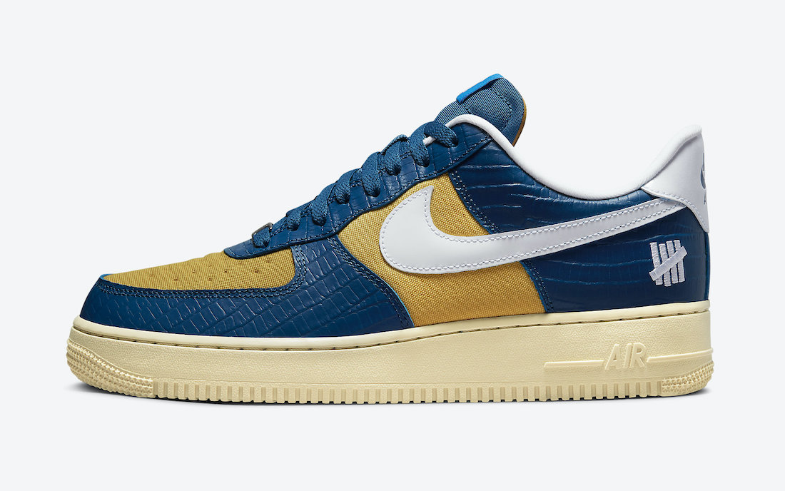Undefeated Nike Air Force 1 Low Dunk vs AF1 DM8462-400 Release Date Info