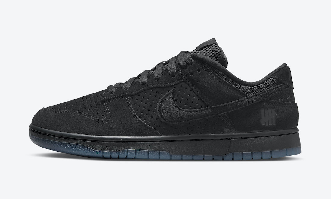 Undefeated Nike Dunk Low Black DO9329-001 Release Date Info