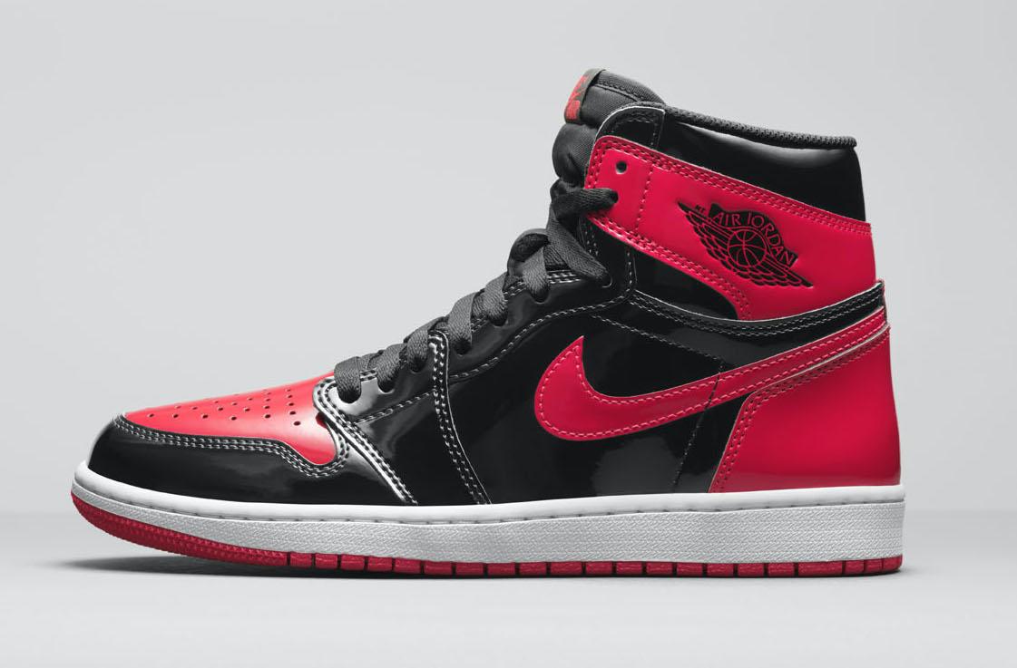 Air Jordan 1 Bred Patent 555088-063 Release Date
