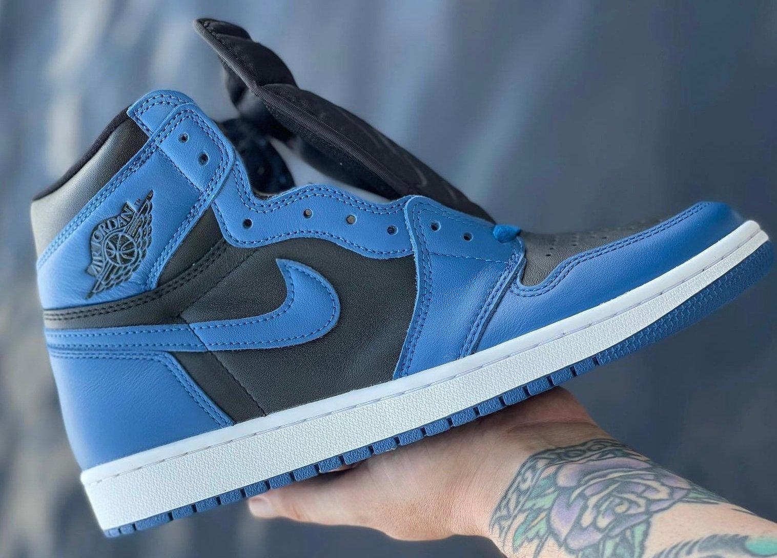 Air Jordan 1 High Marina Blue 555088-404