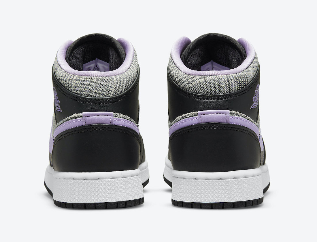 Air Jordan 1 Mid SE GS Houndstooth DC7226-015 Release Date Info