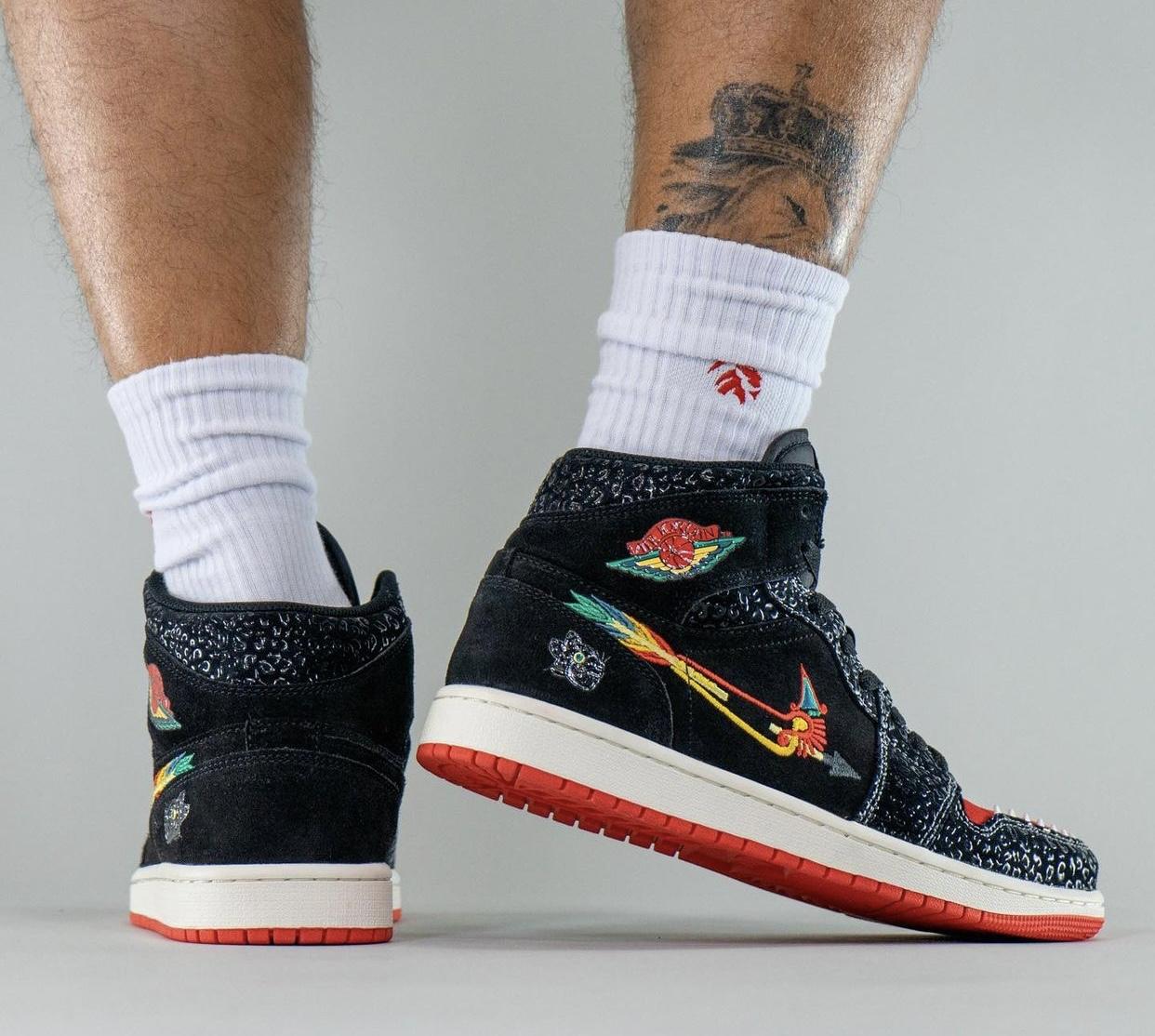 Air Jordan 1 Siempre Familia DN4904-001 On-Feet