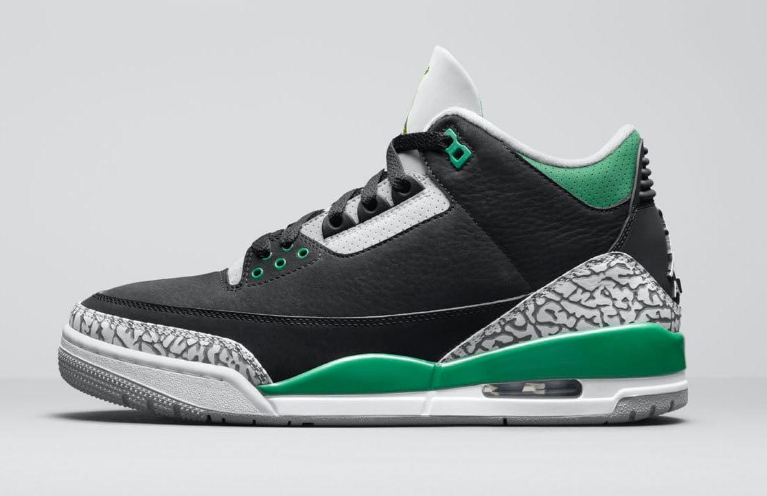 Air Jordan 3 Pine Green CT8532-030 Release Date