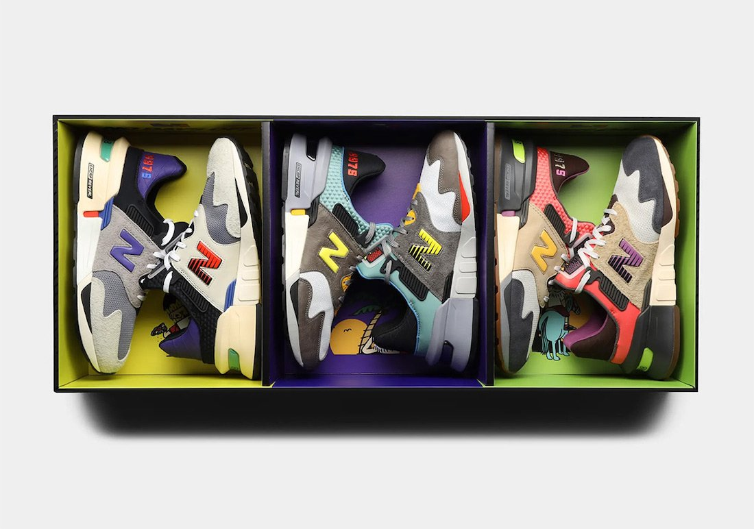Bodega New Balance 997S Trilogy Pack Release Date Info