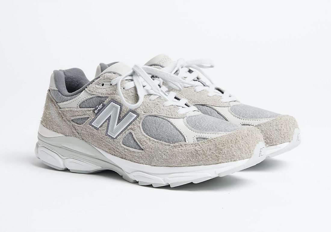 Levis New Balance 990v3 Grey Release Date Info