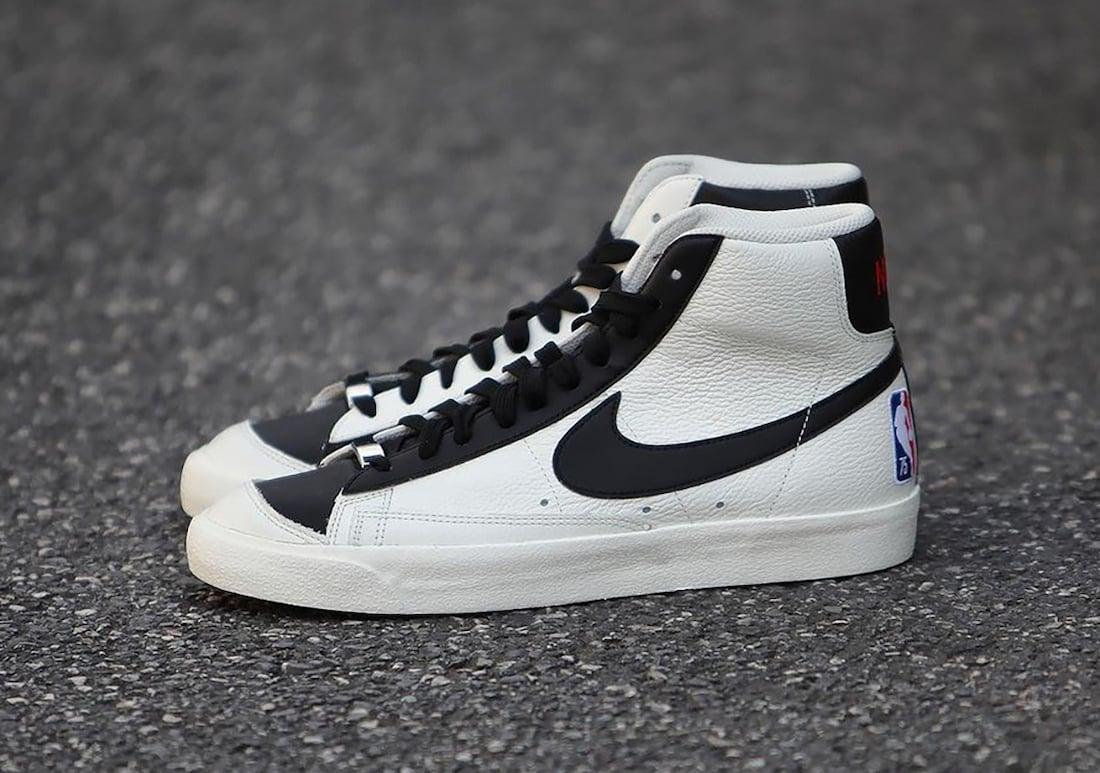 NBA Nike Blazer Mid 75th Anniversary Release Date Info