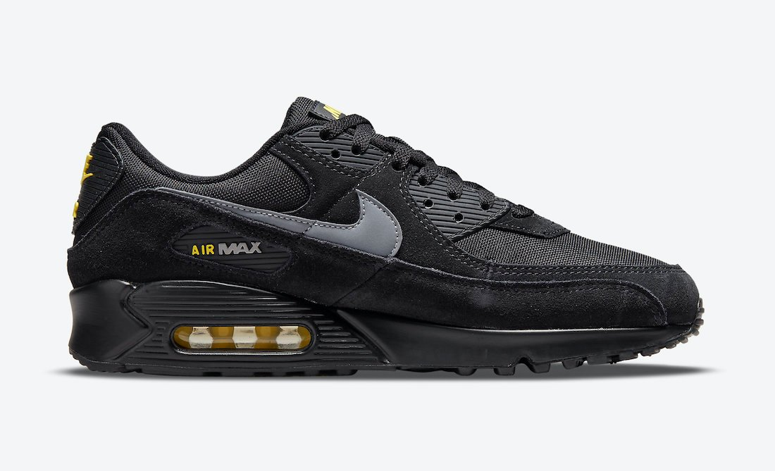 Nike Air Max 90 Black Yellow DO6706-001 Release Date Info