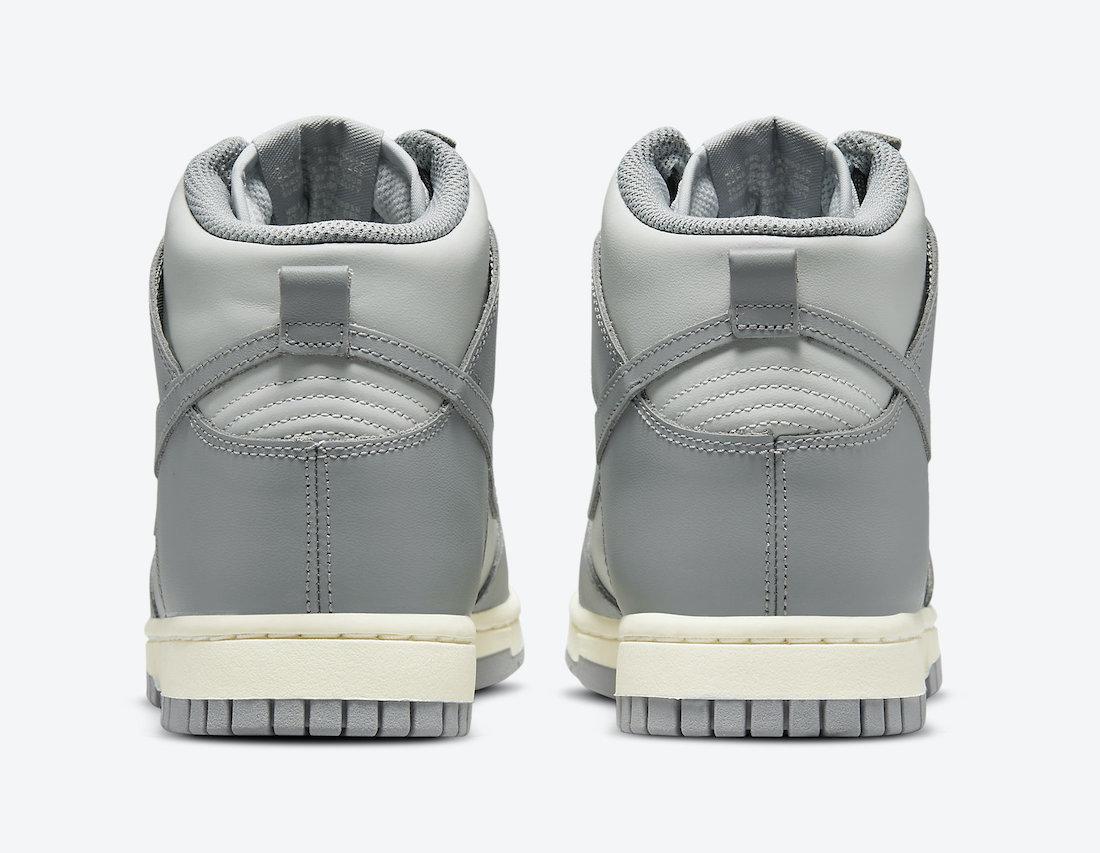 Nike Dunk High Grey White DD1869-001 Release Date Info