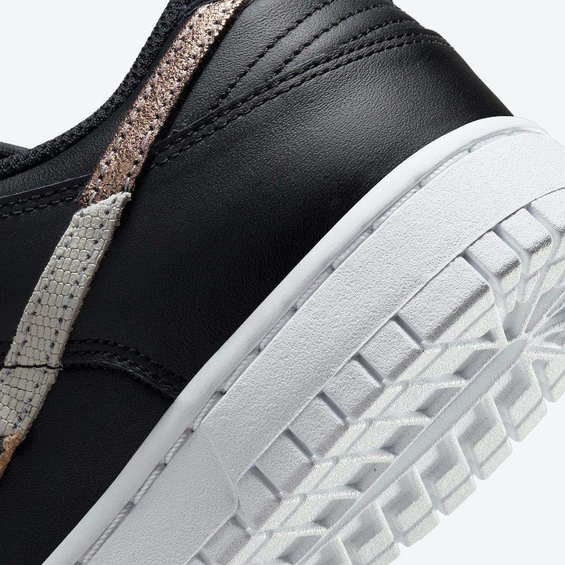 Nike Dunk Low Black WMNS DD7099-001 Release Date