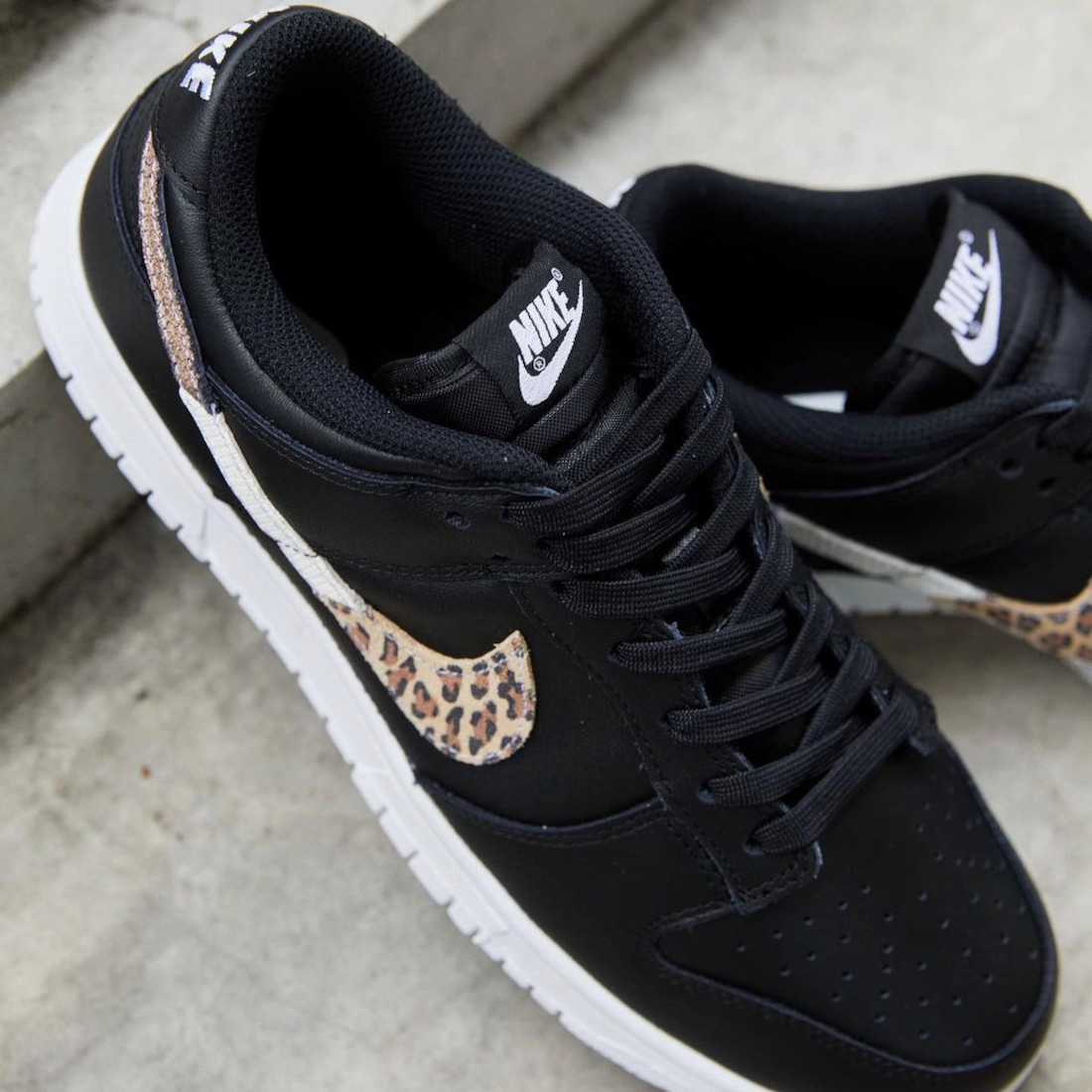 Nike Dunk Low Leopard DD7099-001 Release Date Info