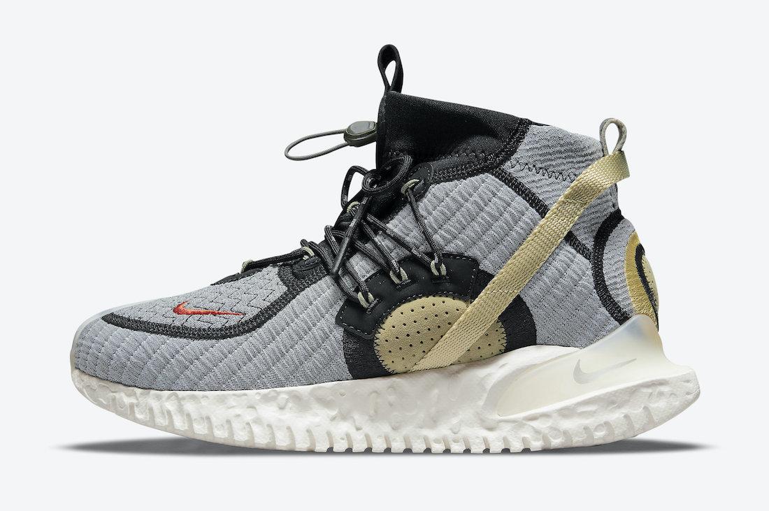 Nike ISPA Flow 2020 SE Grey Beige CW3045-300 Release Date Info