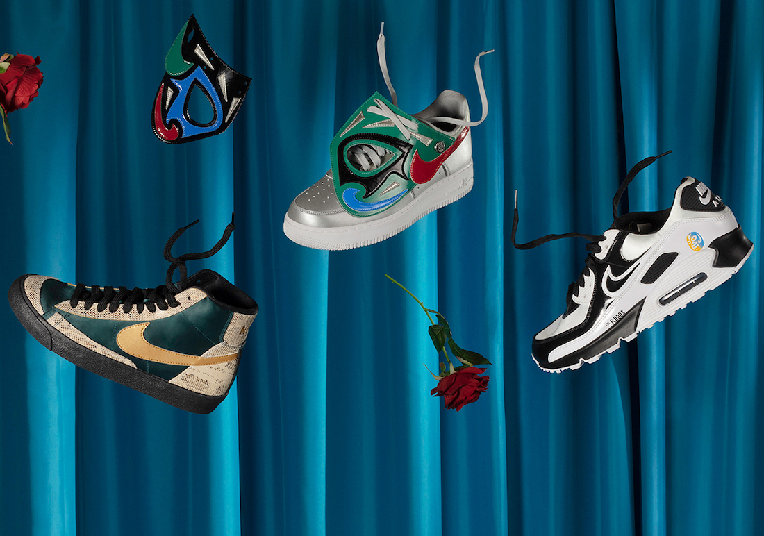 Nike Lucha Libre Collection 2021 Release Date Info