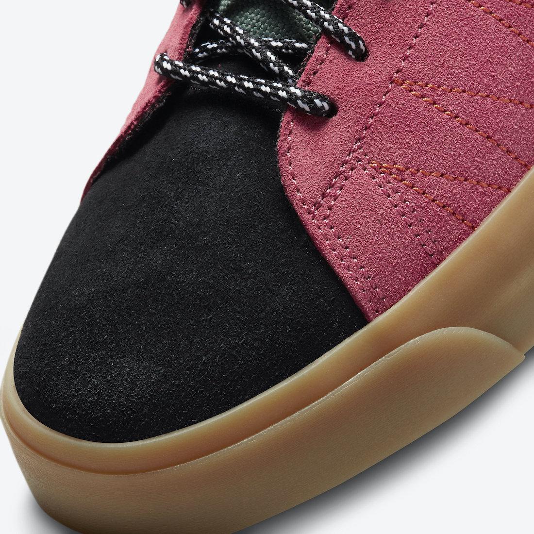 Nike SB Blazer Mid Premium Acclimate Sport Spice DC8903-301 Release Date Info