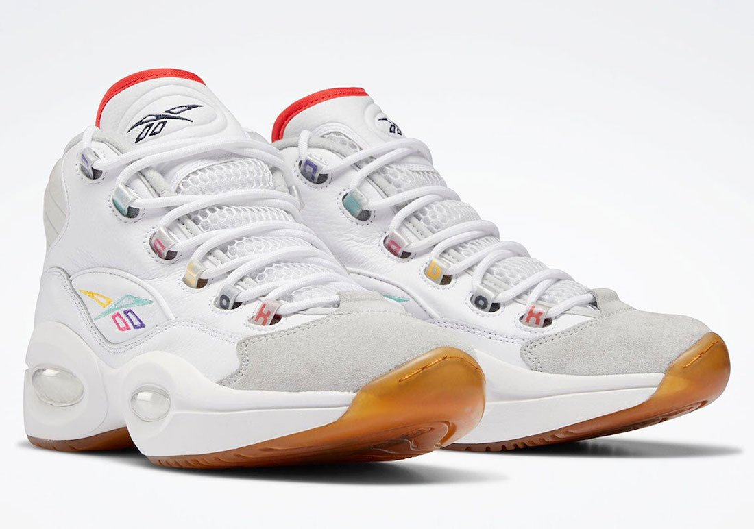 Reebok Question Mid White Navy Grey GY2641 Release Date Info