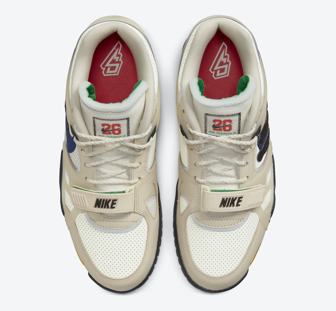 Saquon Barkley Nike Air Trainer 3 DA5403-200 Release Date
